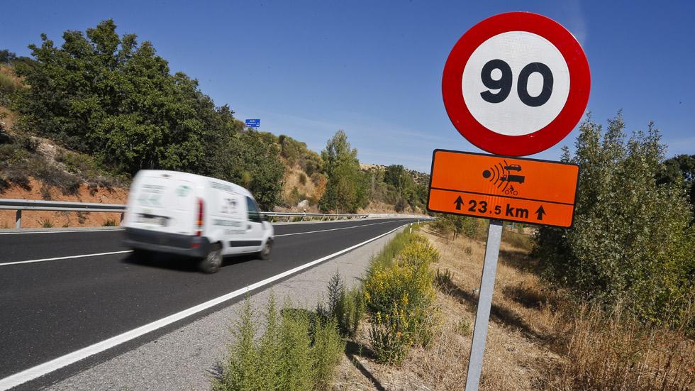 Más radares en los 300 tramos más peligrosos de las carreteras