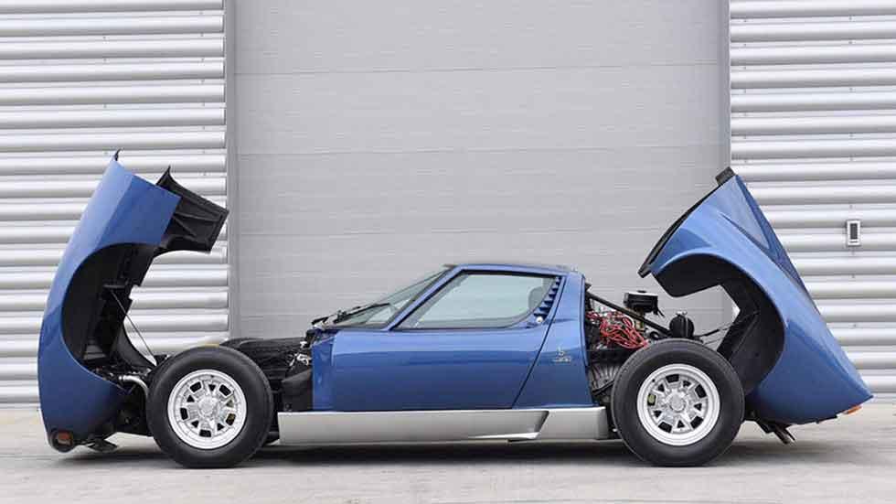 El Lamborghini Miura de Rod Stewart, vendido por un millón de euros