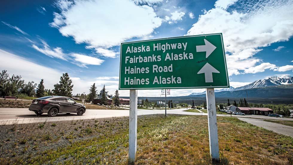 Viajamos por Alaska con un BMW X6
