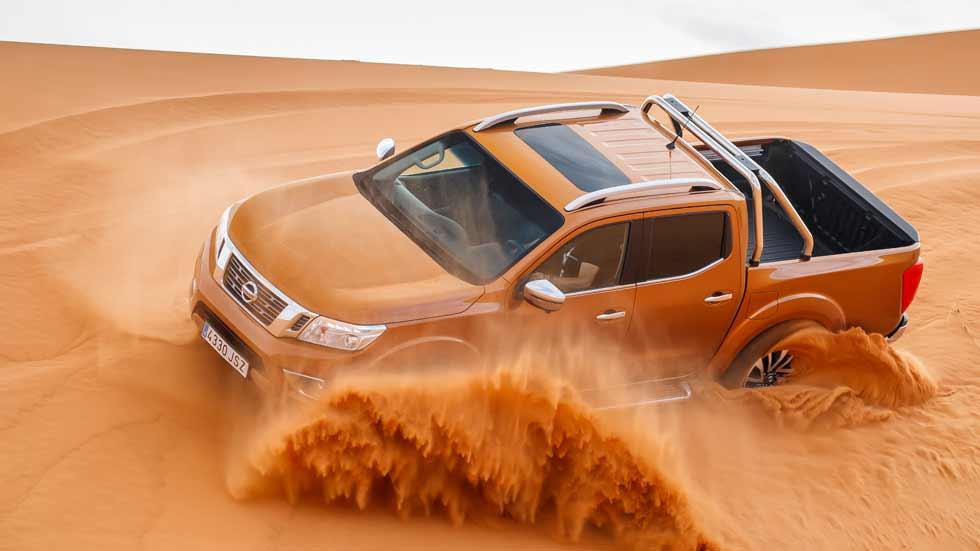 Nissan Navara 2017: prueba en Marruecos del nuevo pick-up