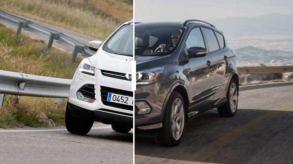 Ford Kuga 2015 vs Ford Kuga 2017: en busca de las diferencias