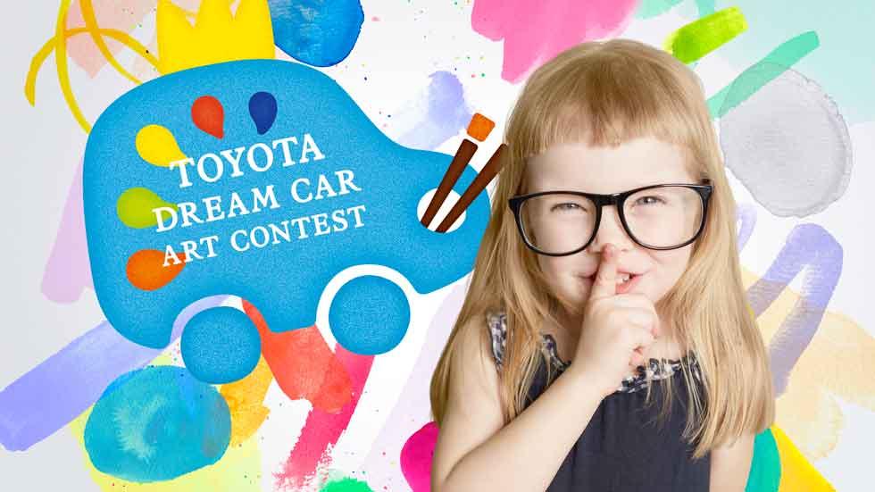 Vuelve el concurso de dibujo infantil de Toyota, ¡apúntate!