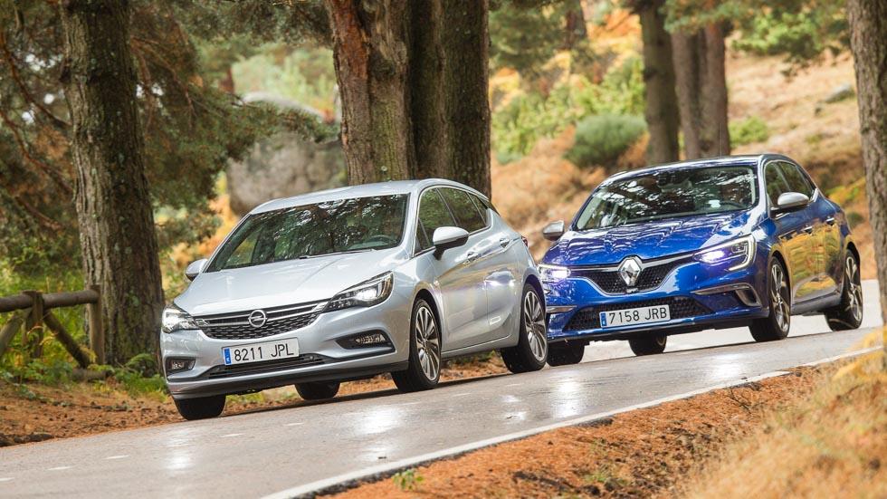 Renault Megane GT vs Opel Astra Turbo: dos gasolina, frente a frente