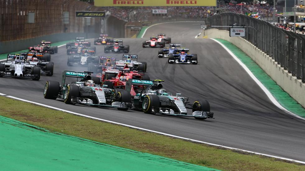 Fórmula 1: las estadísticas del Gran Premio de Brasil