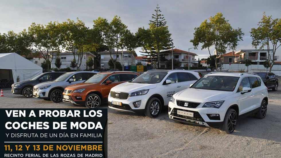 ¡Arranca Test The Best SUV!: el mayor evento para probar coches de España