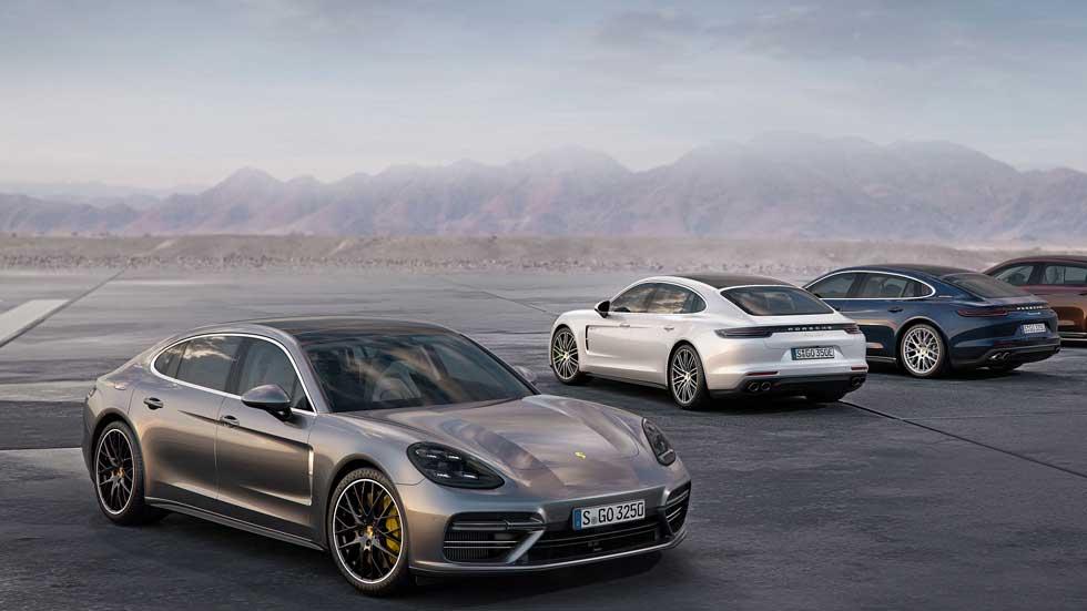 Porsche Panamera Executive, la versión aún más 'premium' de la berlina