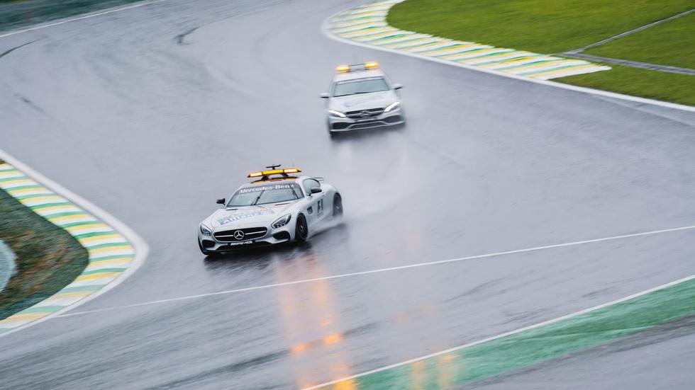 Gran Premio de Brasil: Llueve en Interlagos
