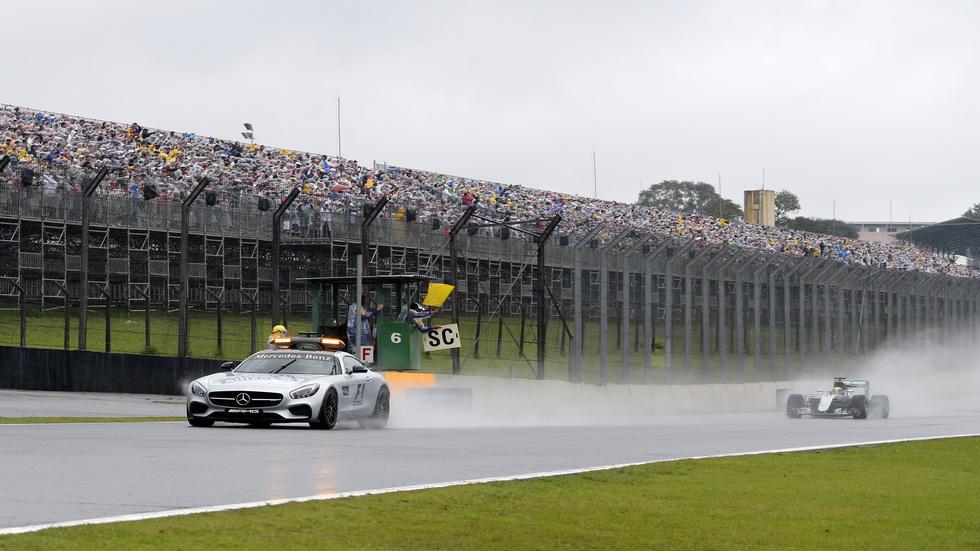 Gran Premio de Brasil: La carrera se interrumpe en la vuelta 20