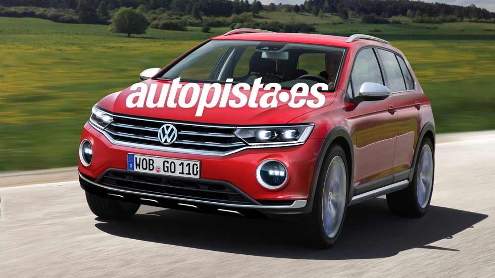 ¿Un Volkswagen Golf SUV? Primeros detalles