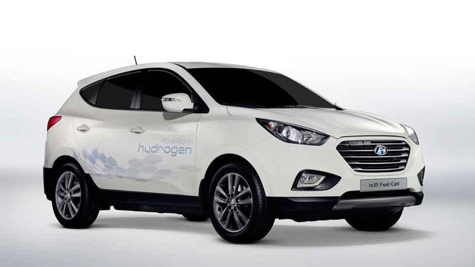 El SUV Hyundai ix35 de hidrógeno, el nuevo taxi en París
