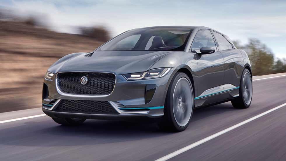 Jaguar I-Pace Concept, un SUV eléctrico de 400 CV
