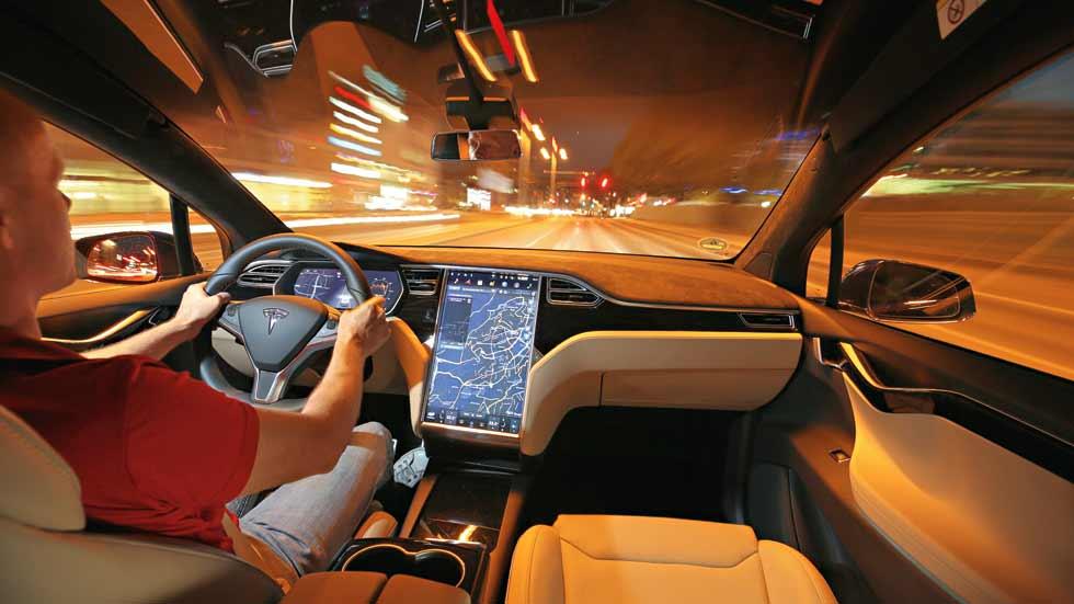 Cabify incorpora a su flota en Madrid el Tesla S70D
