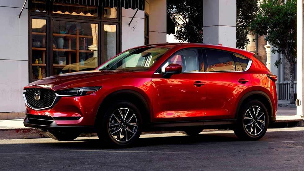 Mazda CX-5 2017: todas las fotos y datos oficiales