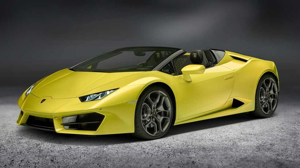 Lamborghini Huracán Spyder LP 580-2: nuevo toro deportivo