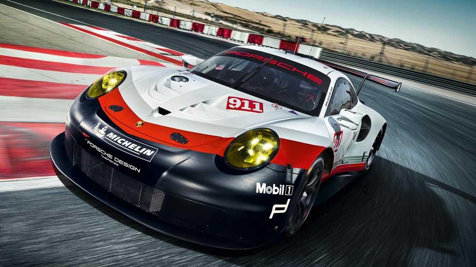 Porsche 911 RSR 2017, el nuevo coche de carreras