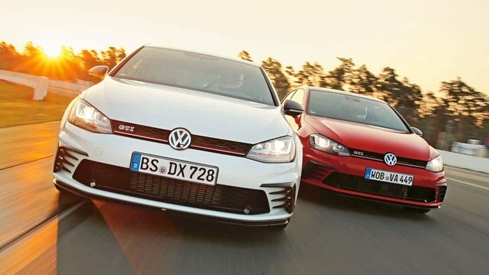 VW Golf GTI Clubsport y Clubsport S: a prueba los Golf GTI más potentes de la historia