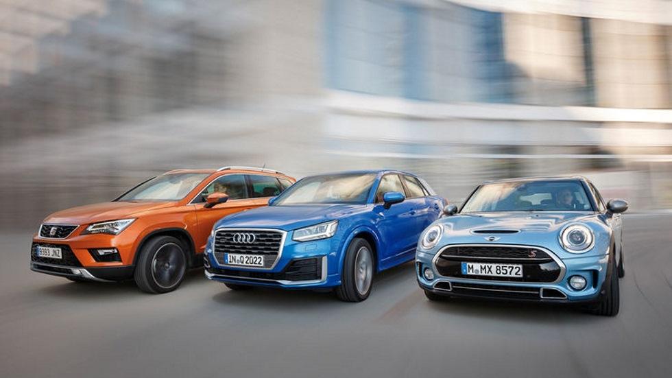 Audi Q2, Mini Clubman y Seat Ateca: ¿cuál es mejor?