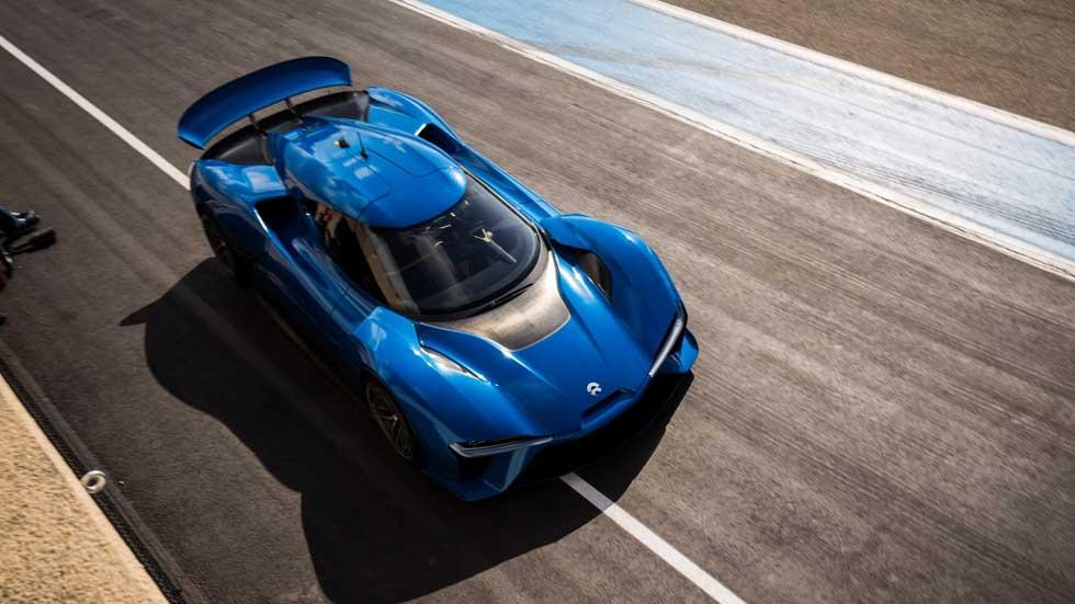 NextEV NIO EP9, el coche eléctrico más rápido del mundo
