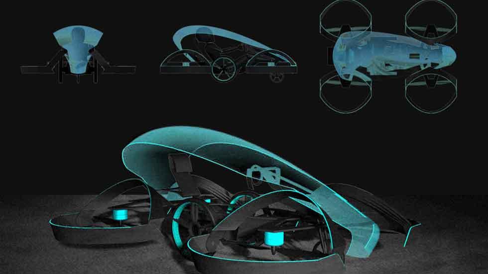 El primer coche volador llegará en 2020, en los JJOO de Tokio