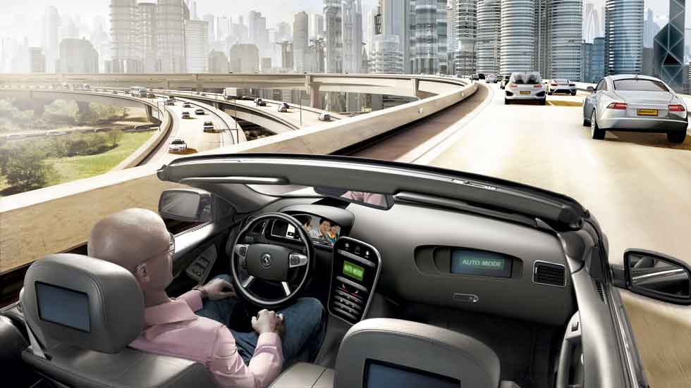 Dudas: ¿Quién será culpable cuando un coche autónomo choque con otro?