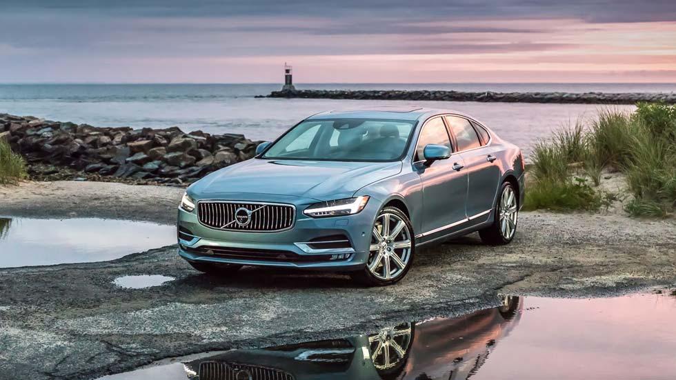 Novedades en 2017 para los Volvo S90, V90 y XC90