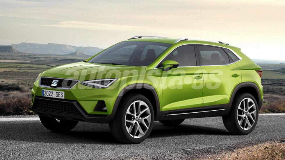 VW fabricará en Alemania un Seat SUV más grande que el Ateca