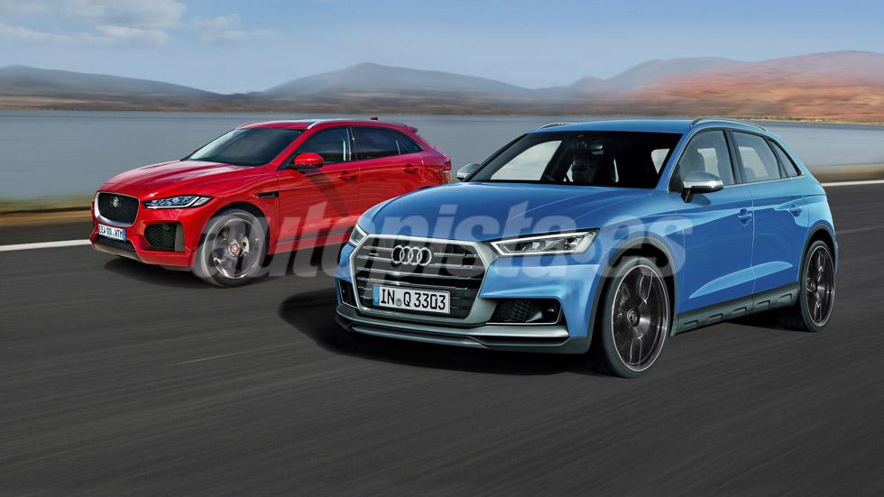Audi Q3 vs Jaguar E-Pace: un nuevo duelo SUV para 2018