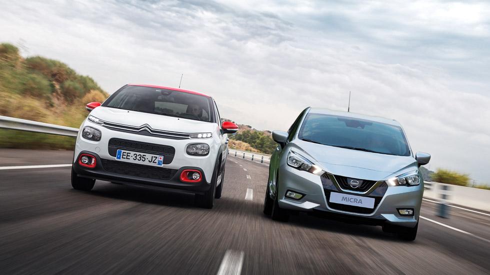 Nuevos duelos superventas: Citroën C3 vs Nissan Micra