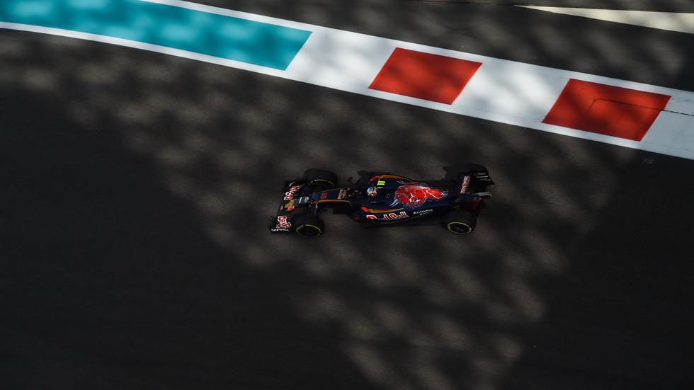 Gran Premio de Abu Dabi: Sainz y Kvyat con problemas