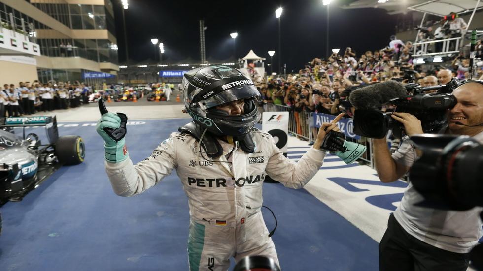 Gran Premio de Abu Dabi: Carrera