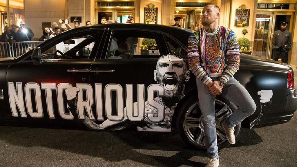 Todos los coches de Conor McGregor, el luchador más mediático del UFC