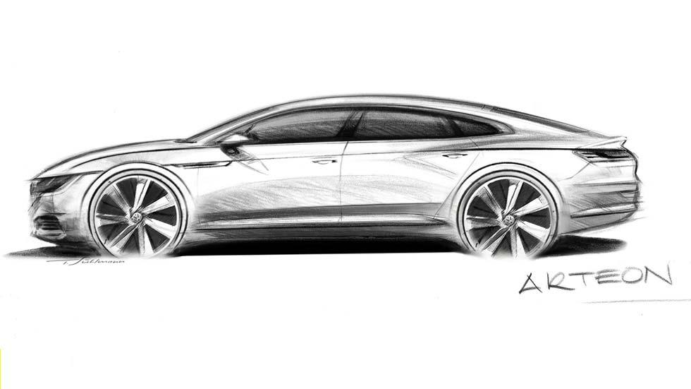Nuevo Volkswagen Arteon: más lujoso que el Passat