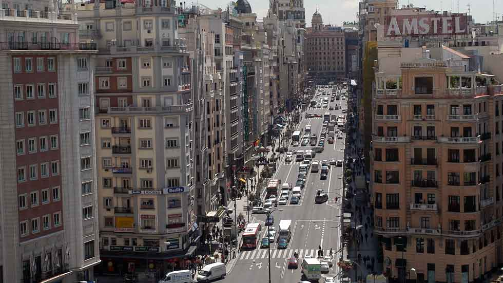 Madrid cerrará el centro al tráfico en Navidades