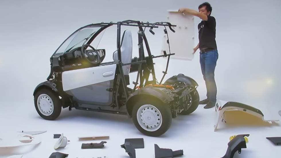 Micro EV, la furgoneta de Honda fabricada con una impresora 3D