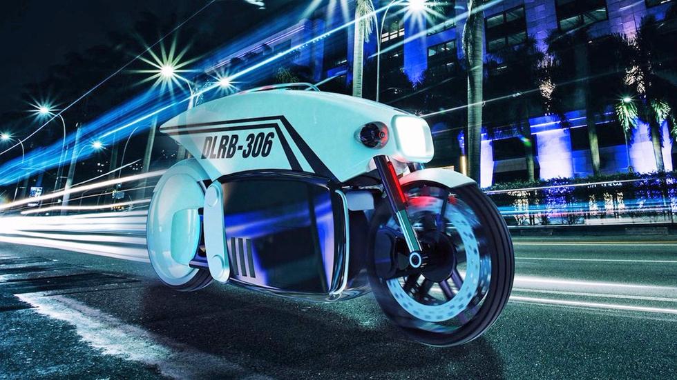 La moto autónoma de Policía con radar y cámaras: así te multará