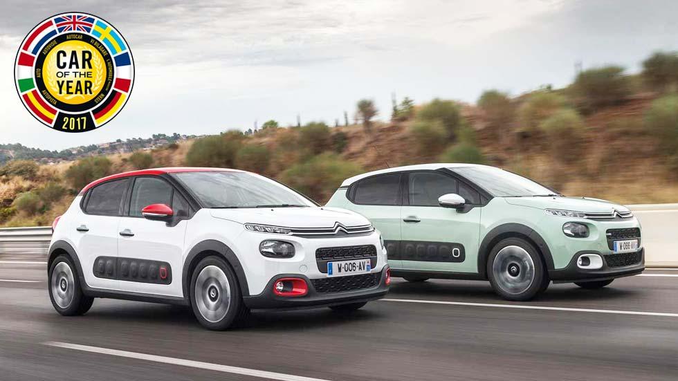 Citroën C3, aspirante a mejor Coche del Año en Europa 2017