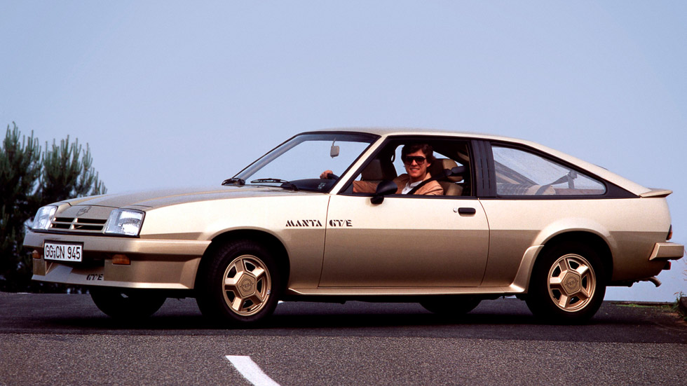 Opel Manta GT/E: un deportivo coupé que enamoró en los 70 y 80