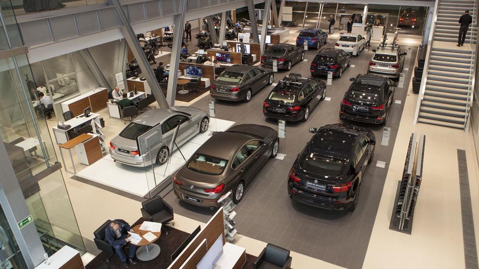 Las ventas de coches suben un 13,5 % en noviembre