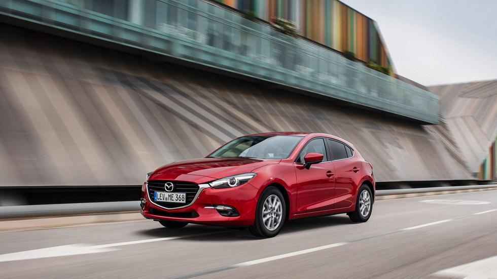 Mazda3 2017, mejora en imagen y confort. ¡Lo probamos!