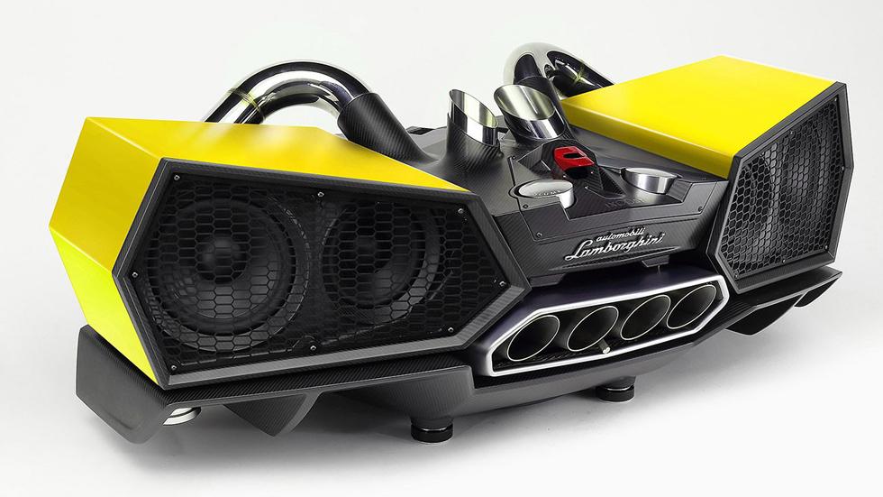 Unos altavoces Lamborghini más caros que tu coche