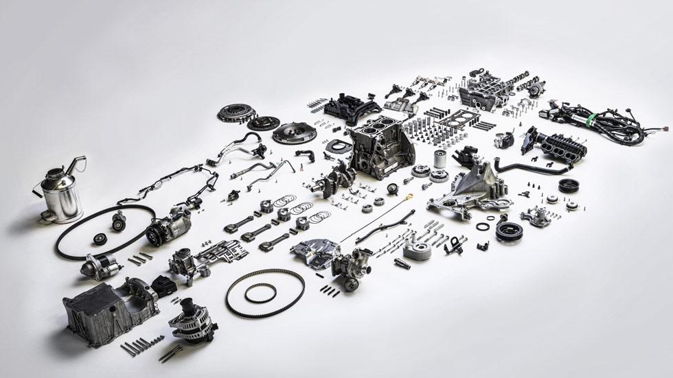 El nuevo motor Ford EcoBoost se queda en dos cilindros