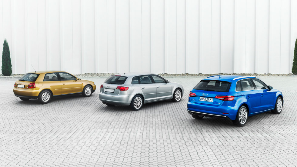 Audi A3, un compacto de éxito que cumple 20 años