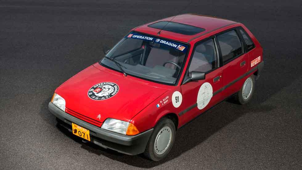 El Citroën AX cumple 30 años: datos y fotos