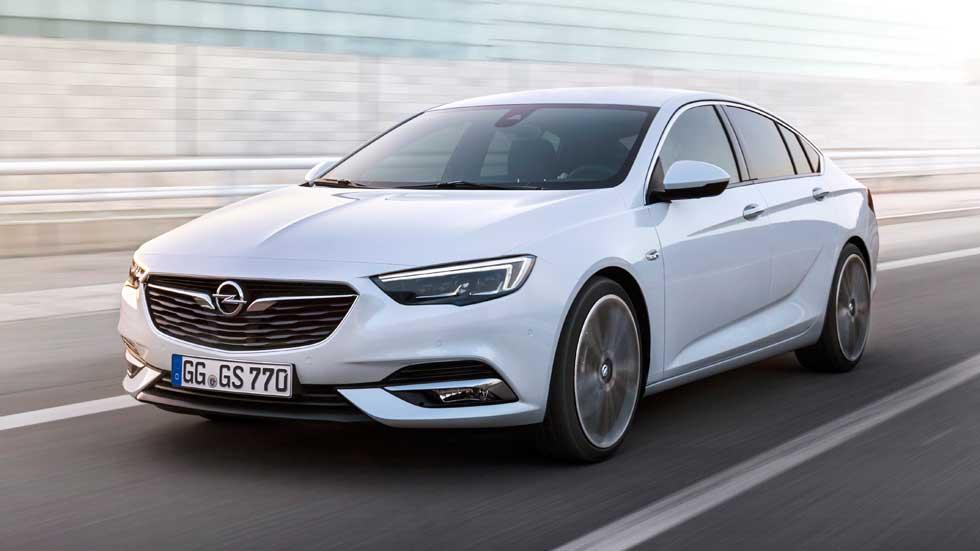 Opel Insignia Grand Sport 2017: el primero de los nuevos Insignia