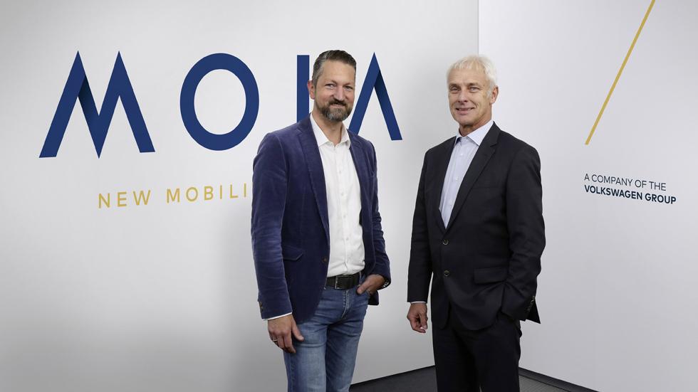Moia, la nueva marca de movilidad de Volkswagen
