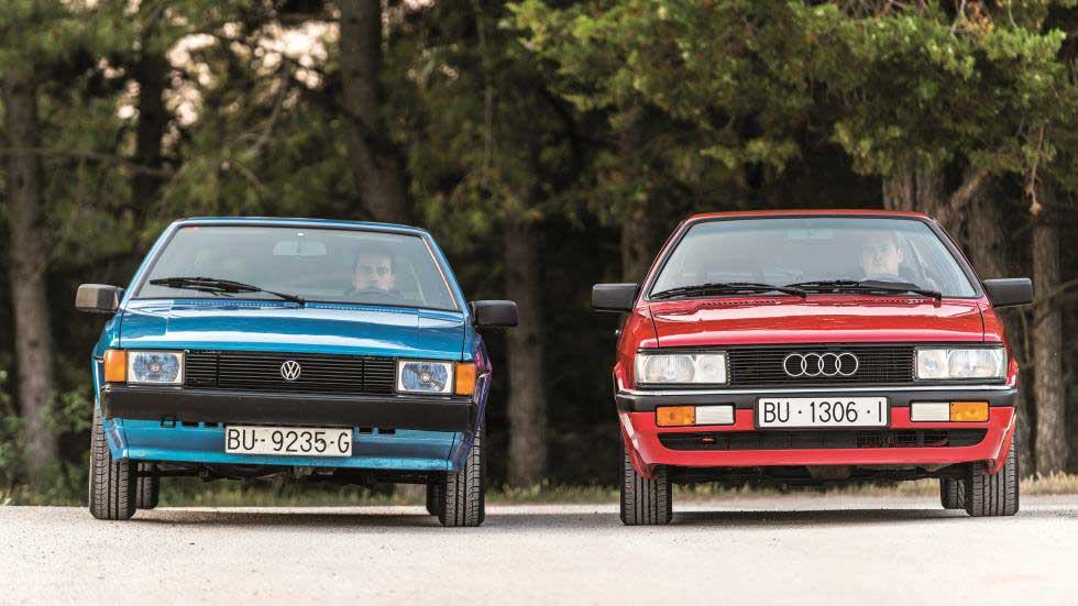 Coches para el recuerdo: Audi Coupé GT vs VW Scirocco GTS