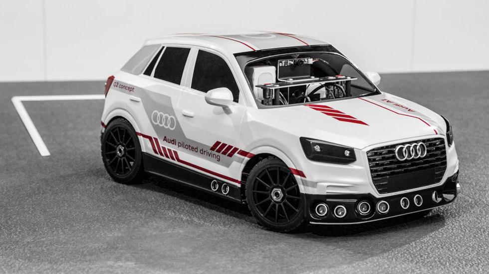 Así es el Audi Q2 que aprende a aparcar de forma autónoma