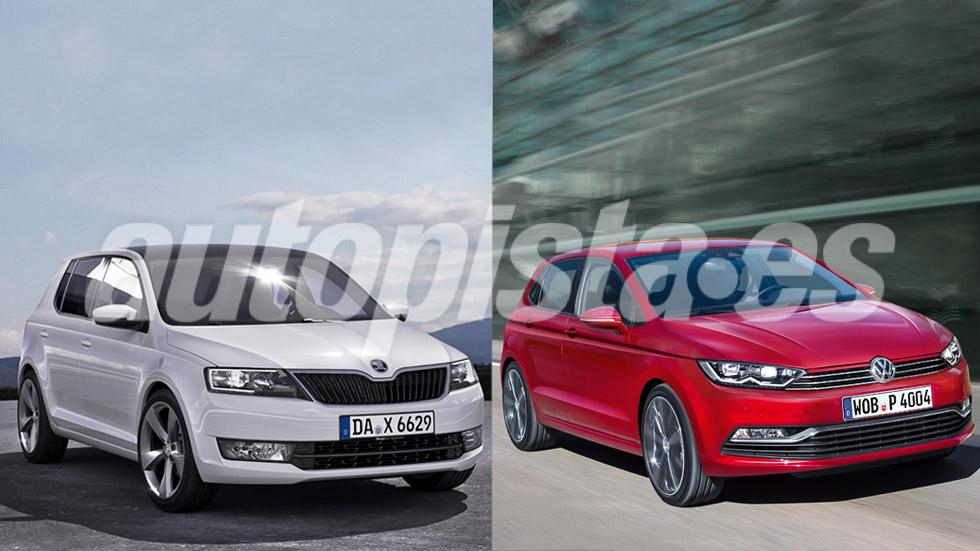 Así serán los nuevos Skoda Fabia y Volkswagen Polo 2017