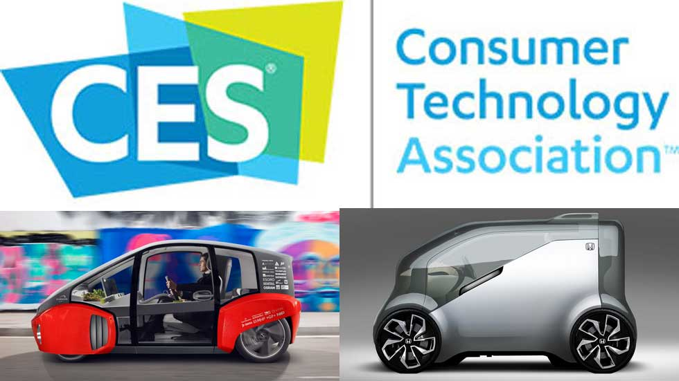 CES Las Vegas 2017: los coches más tecnológicos del futuro