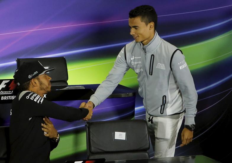 Hamilton eligió a Wehrlein como sustituto de Rosberg